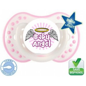 sucette-bebe-originale-baby-angel-rose